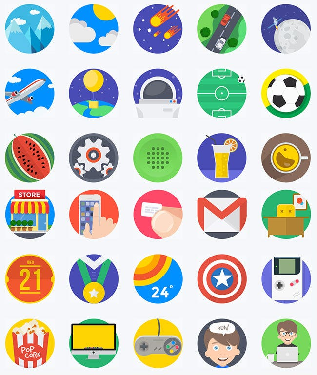 minties ui icons bundle