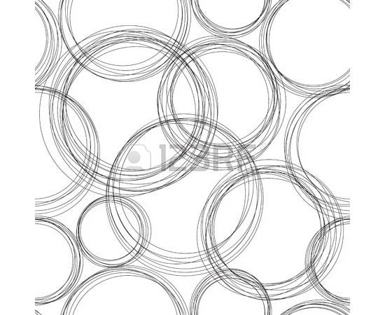 monochrome circles pattern