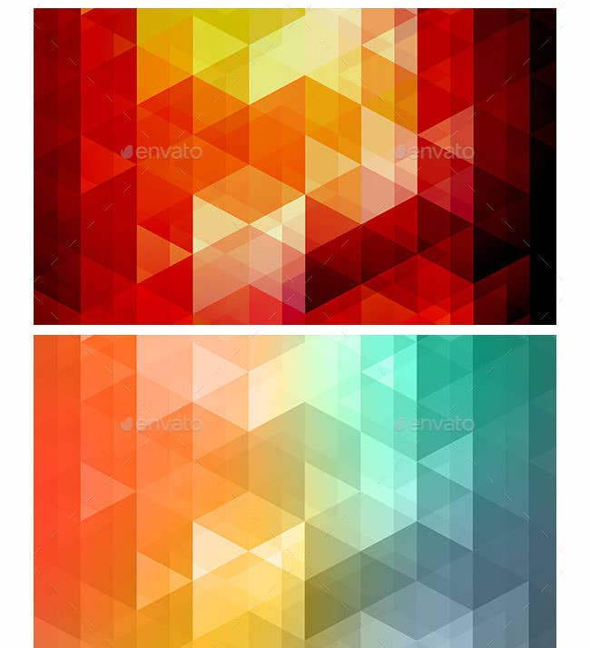 multi color shape backgrounds