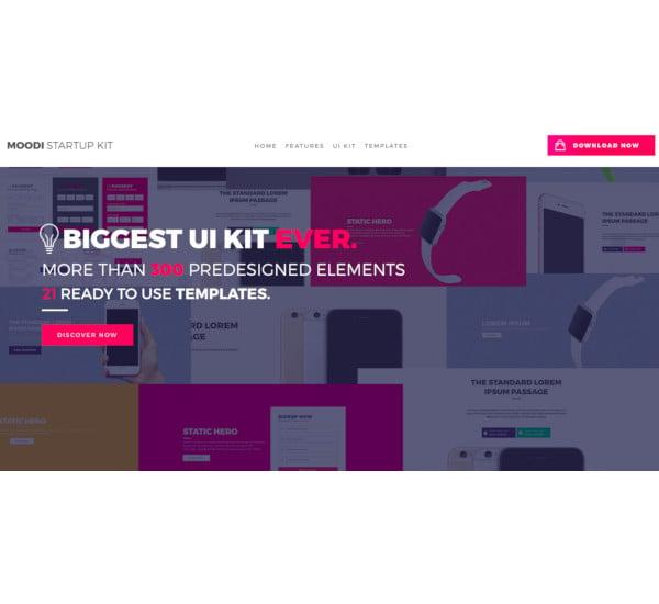 multipurpose premium landing page