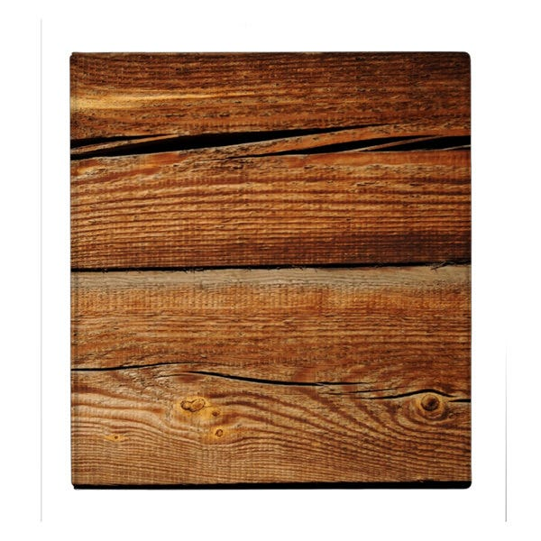 Old Wooden Background 3 Ring Binder