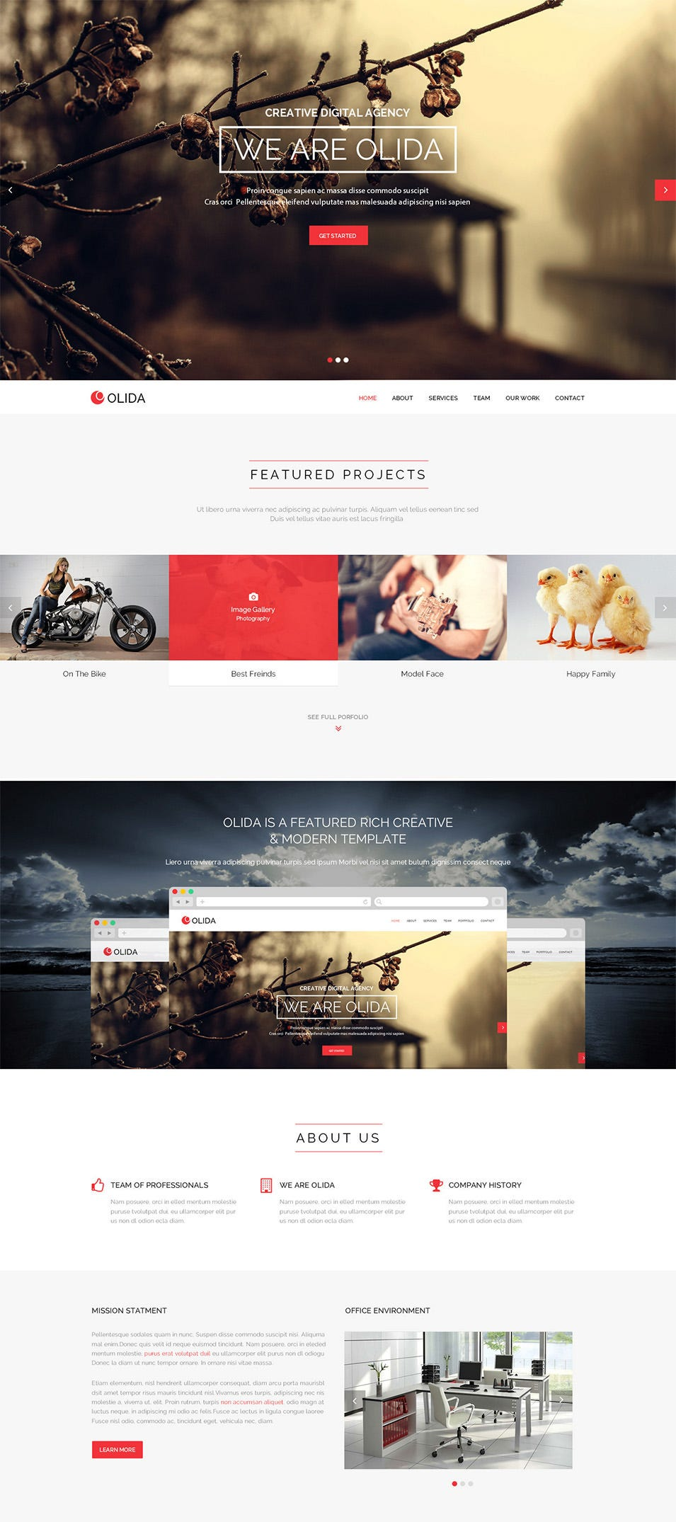 olida multi purpose parallax psd landing page themeforest previewer copy