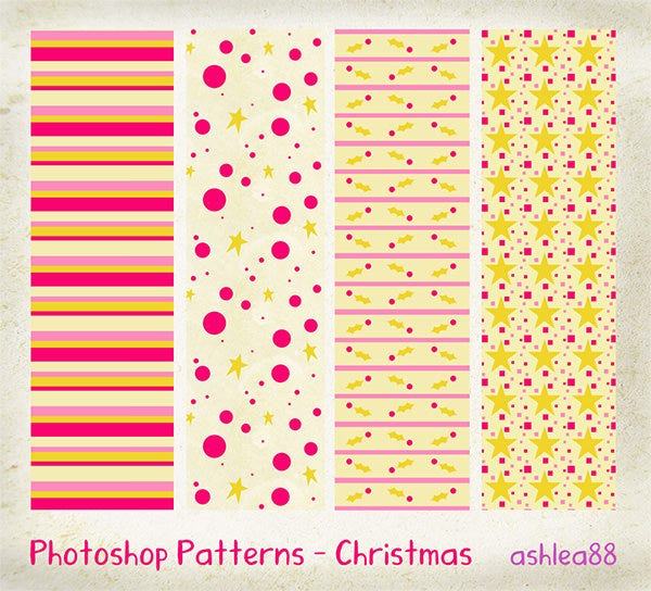 ps patterns christmas
