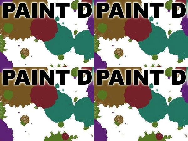 paint drops brush set