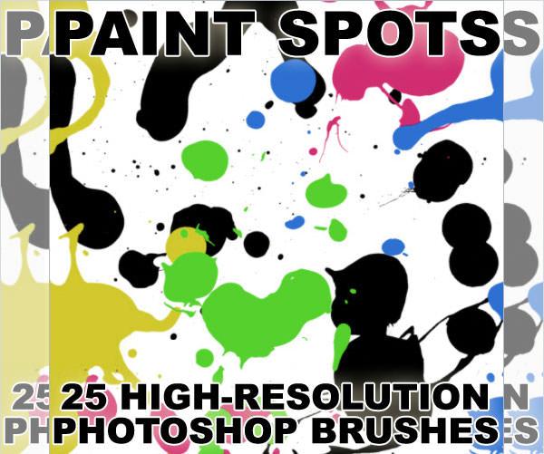paint spot brushes
