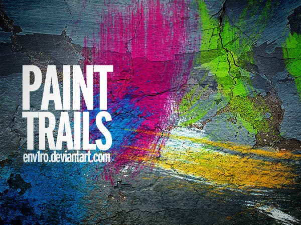 paint trails brushes