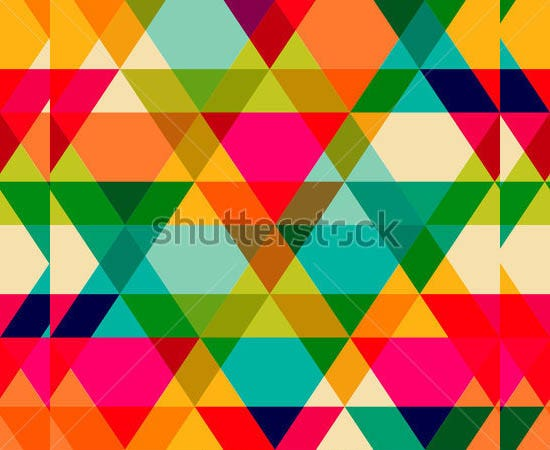 pattern of geometric shapes