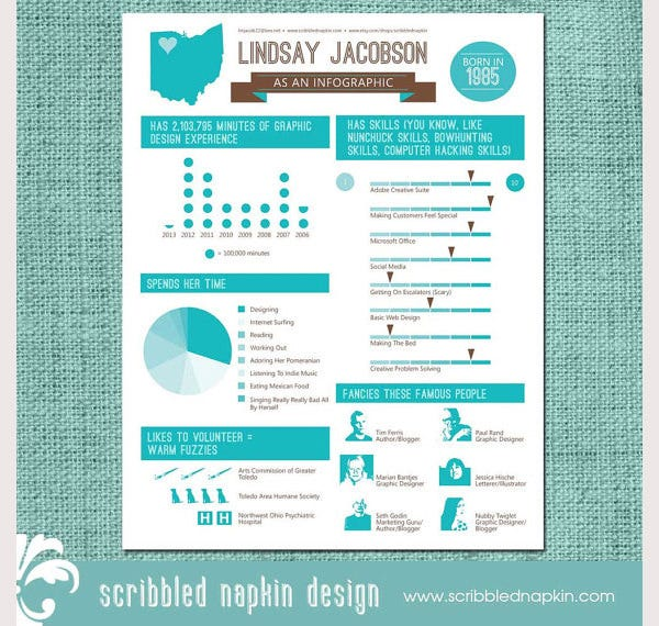 35 infographic resume templates free sample example format download free premium templates. Black Bedroom Furniture Sets. Home Design Ideas