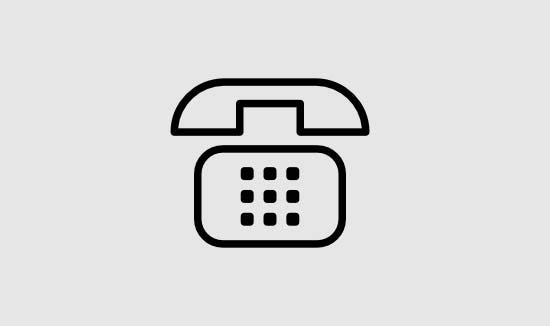 phone outline free icon
