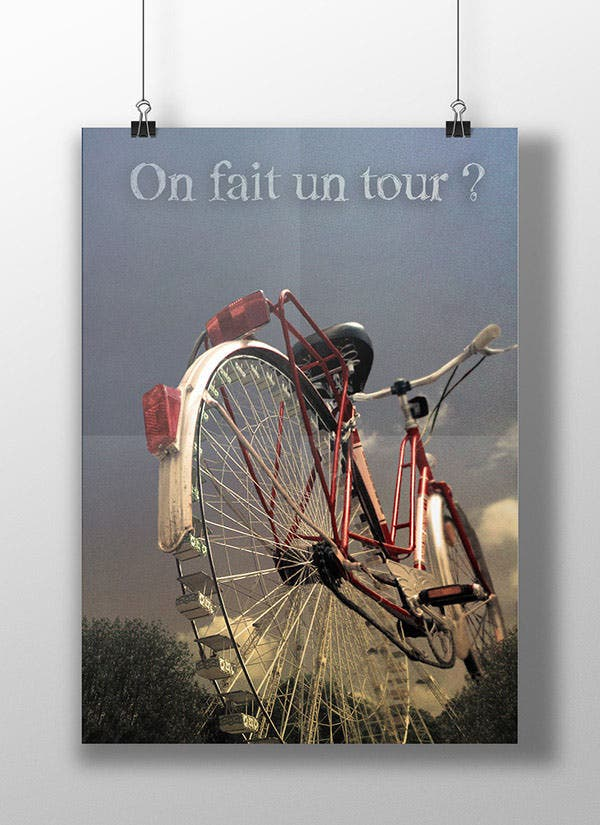 photo manipulation giant bike