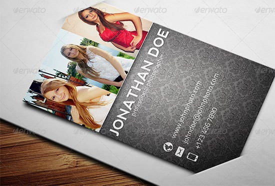 photographer business card 10