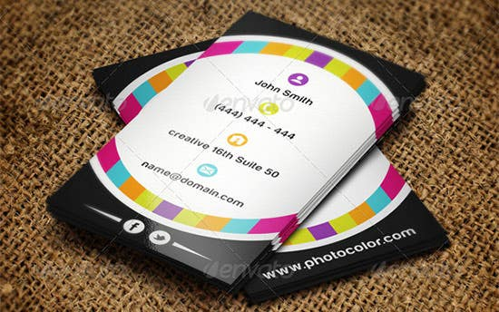 photographer business card 12