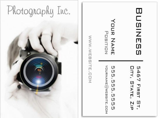 photographer business card 13