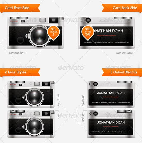 camera business card - anuvrat.info