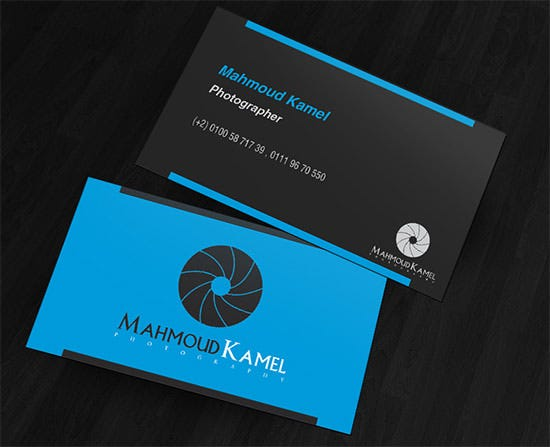 photographer business card1
