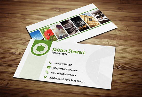 photography business card 15