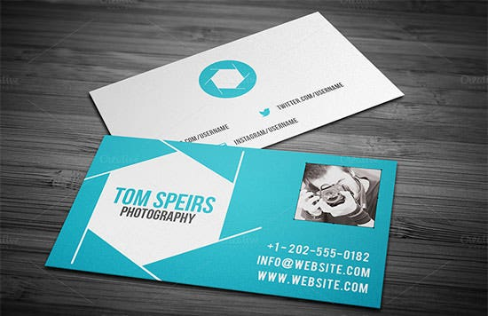 photography business card 16