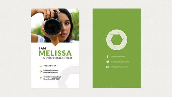 photography business card 3