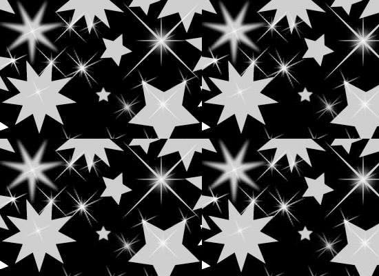 photoshop stars and sparkle