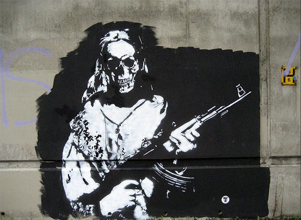 48  Awesome Graffiti &amp SprayPaint Stencils For Your Inspiration