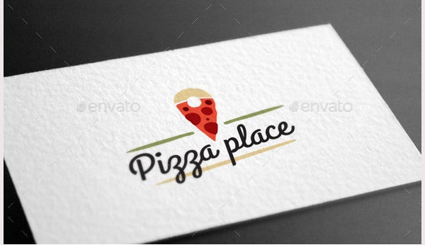 Pizza Place Logo Template