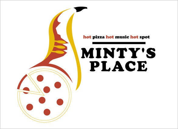 pizza place restaurant logo