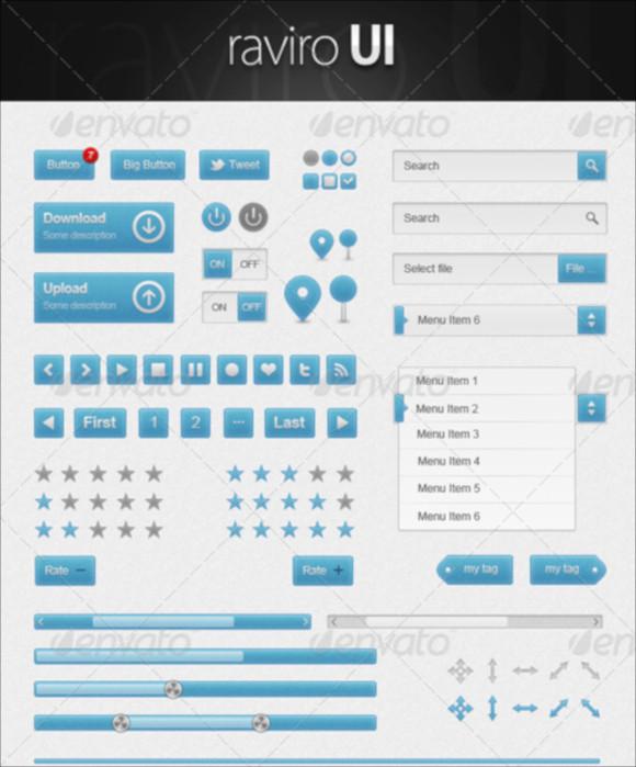 premium user interface elements