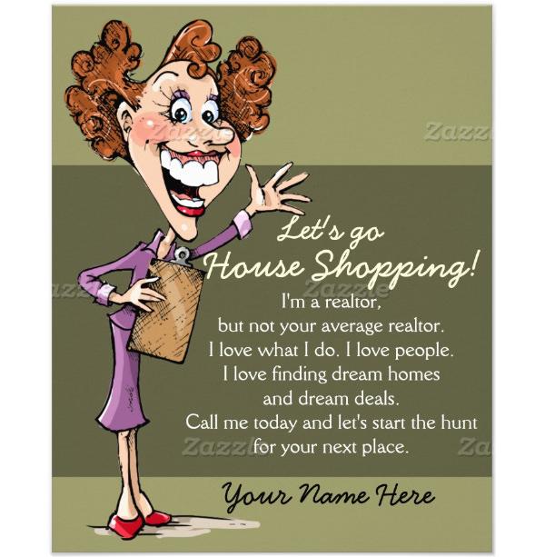 Real Estate Agent House Sales flyer
