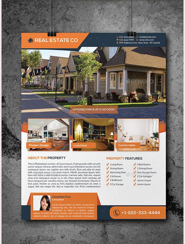 Real Estate Flyer Templatejpg QS6liUWW
