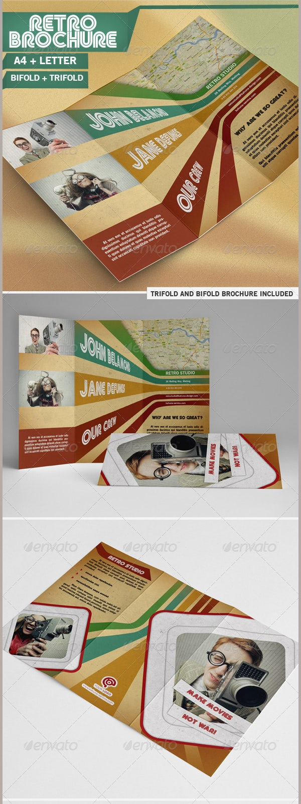 best brochure templates free download - 35 best retro brochure templates download free premium