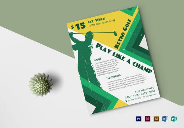 retro style flyer template 41 free psd format download free