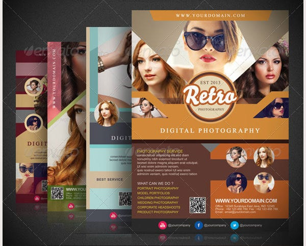 Retro Photography Flyer Template
