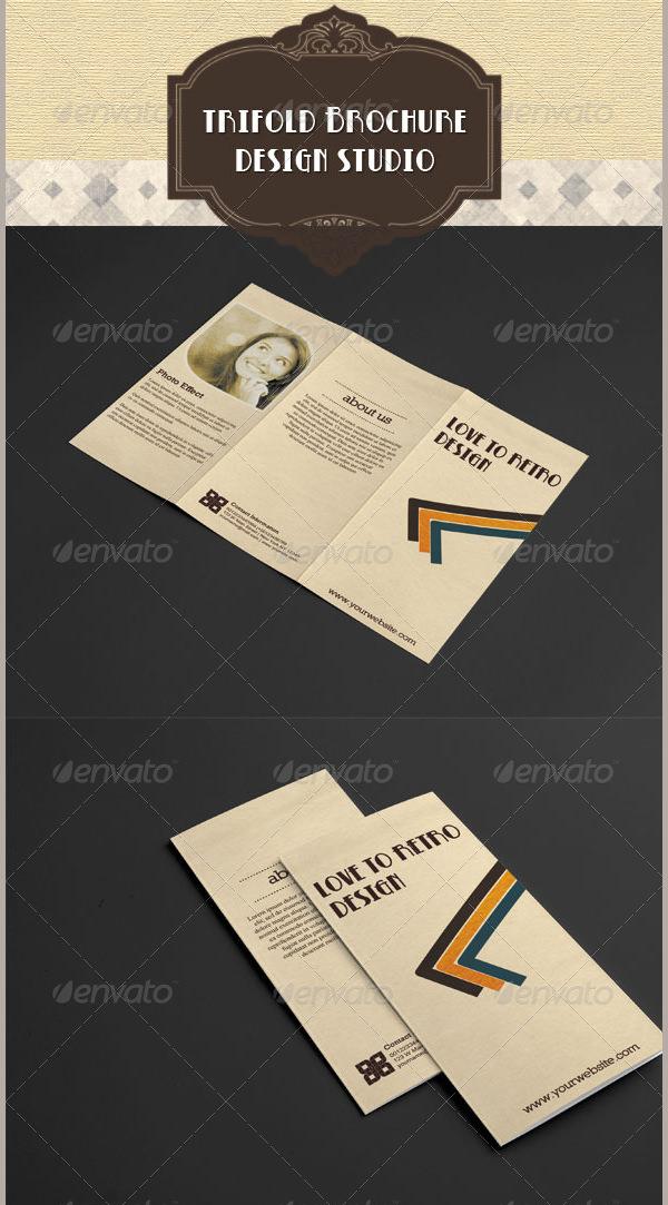 35 Best Retro Brochure Templates Download Free Amp Premium