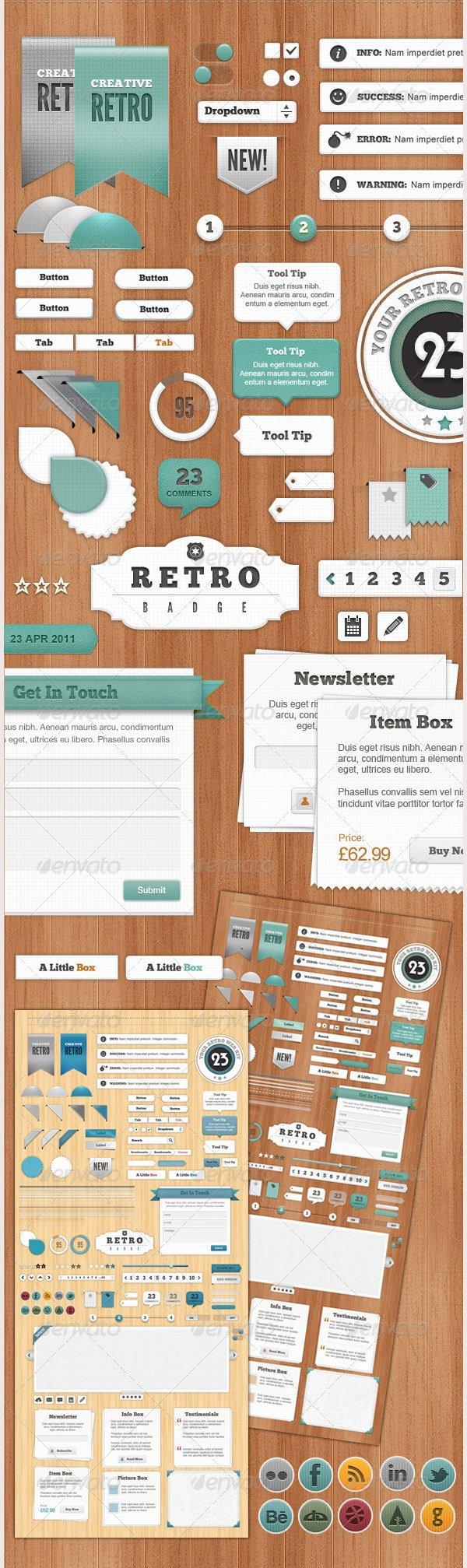 retro web elements1
