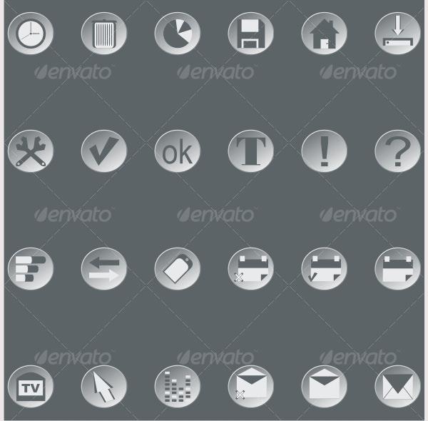 Retro web buttons (set3)