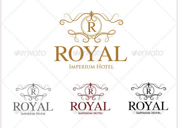 Royal Hotel Logo Template