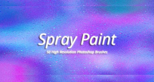 spray paint brushes set
