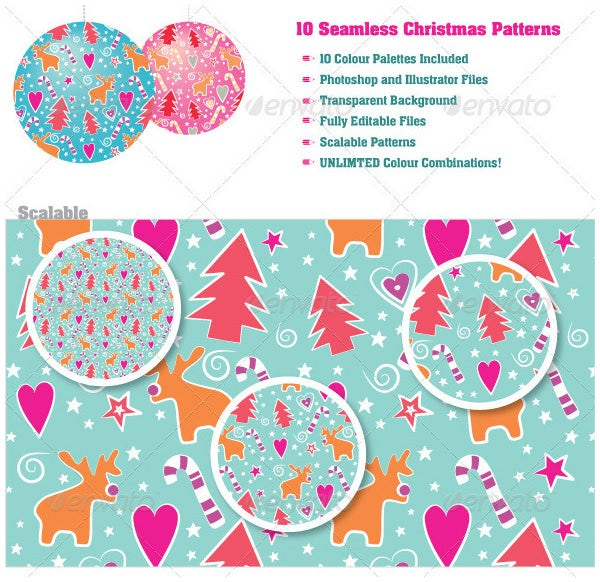seamless christmas patterns5