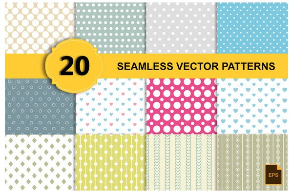 seamless vector patterns20 epspng