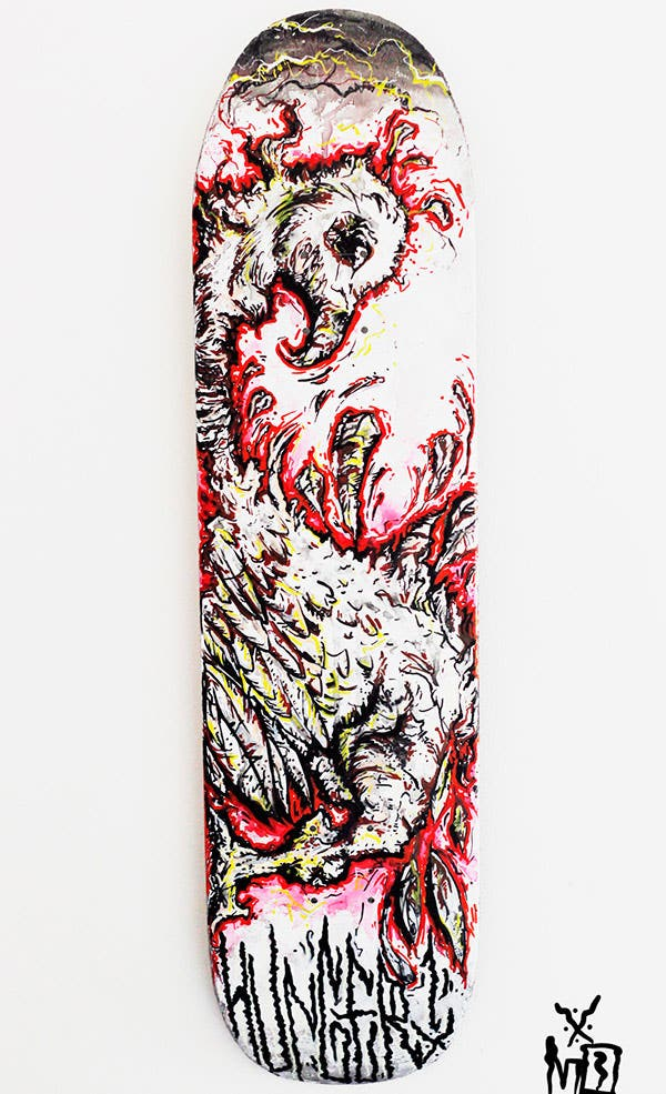 40  Best Skateboard Creative Designs For Your Inspiration