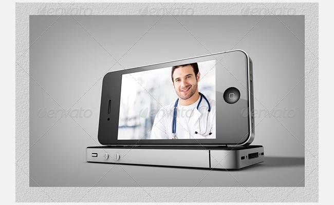 smartphone display mockups bundle