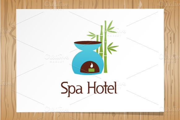 Spa Hotel - Logo Template