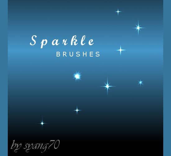 sparkle brushes 41