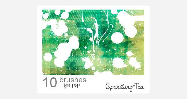 splatter brushes 32355820