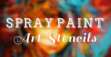 spray paint art stencils