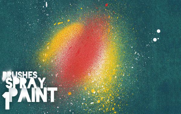 spray paint brushes vol 1