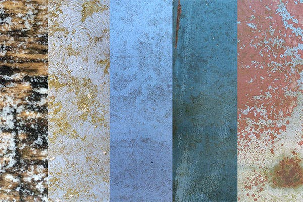 starfire rust and grunge textures