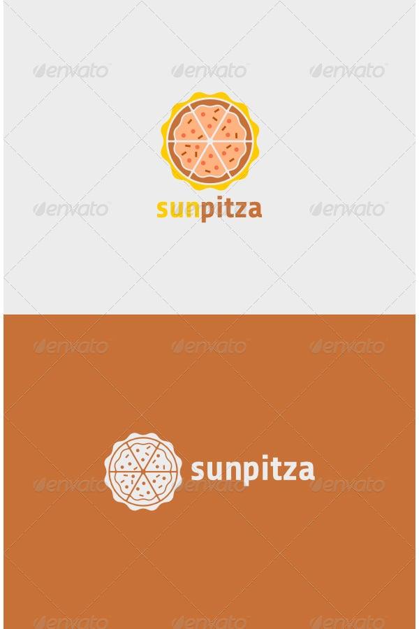 sun pitza logo