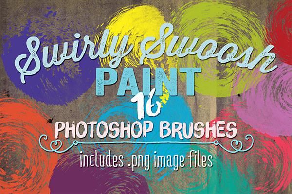 swirly swoosh paint ps brushes1