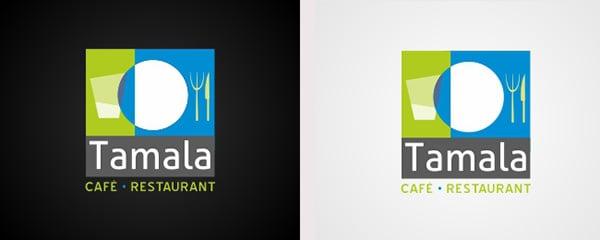 Tamala Cafe Restaurant Logo